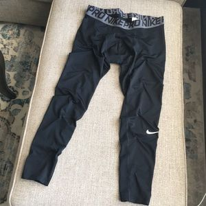 Men's Nike Dry-Fit Compression Tights